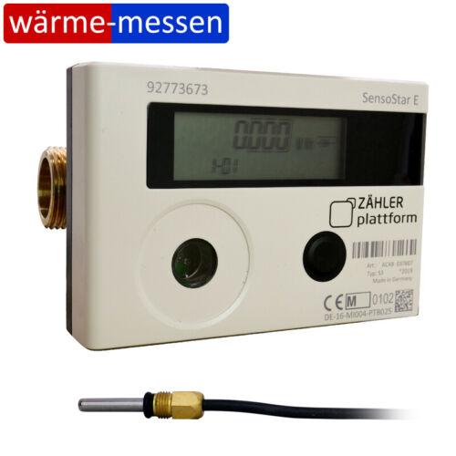 Wärmezähler Engelmann SensoStar E Qn 1,5 110 mm TF 5,0 Eichung 2021 MID Heizung