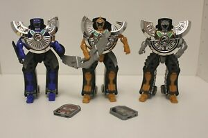 Power Rangers RPM - Moto-Morph Road Attack Silver, Gold ...