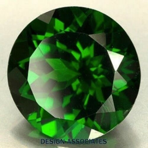 GREEN TOPAZ 6.5 MM ROUND CUT VVS BEAUTIFUL COLOR