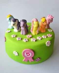 My Little Pony Cake Decoration Toppers Edible Personalised