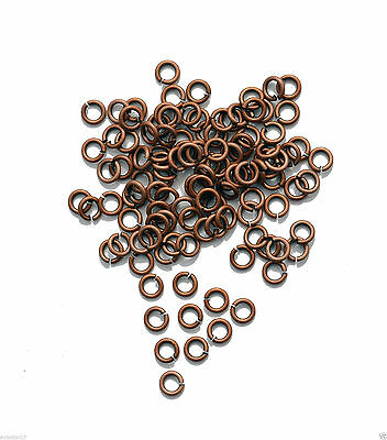 Wholesale Metal Open Round Crafts Connector Jewelry Findings Split Jump Rings