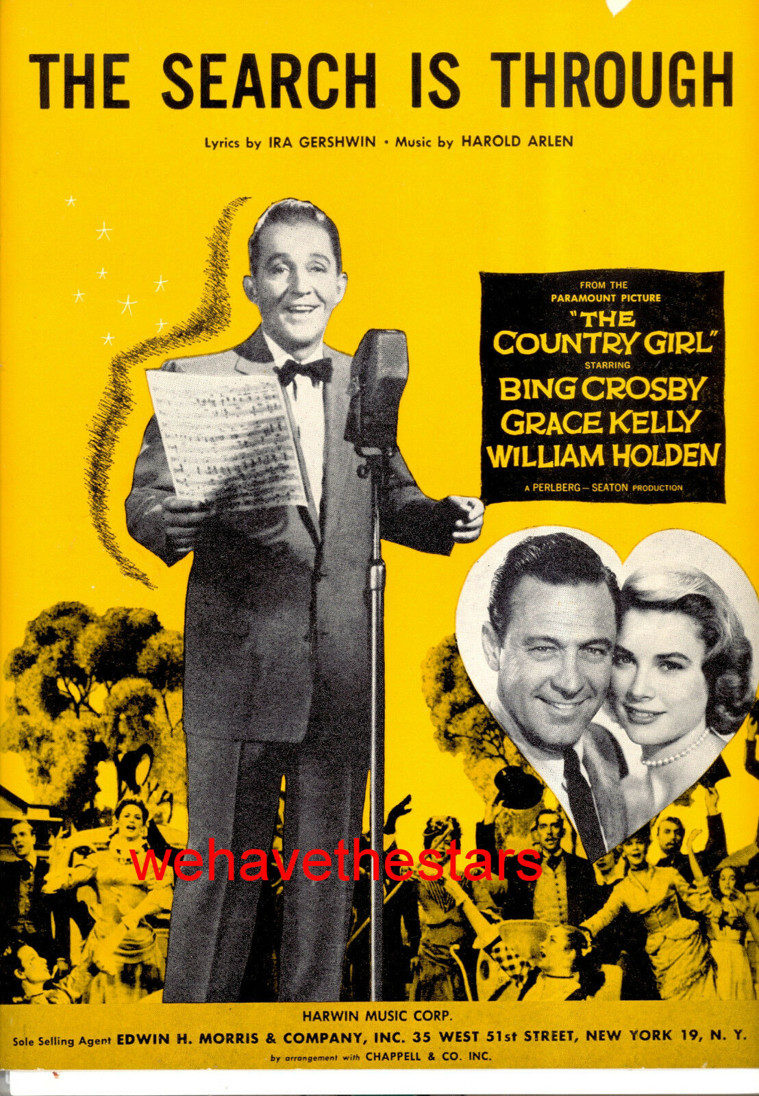 COUNTRY GIRL  The Search Is Through  Bing Crosby Grace Kelly