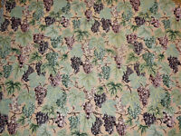 Sauvignon Grape Vineyards Tapestry Upholstery Fabric