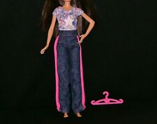 Nice Teen Skipper Doll Jeans + Cute Sparkly Top. Hanger (B71)