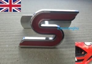 ZETEC-S-BADGE-LOGO-EMBLEM-FOR-GRILLE-FORD-FIESTA-FOCUS-METAL-WITH-FITTING-KIT