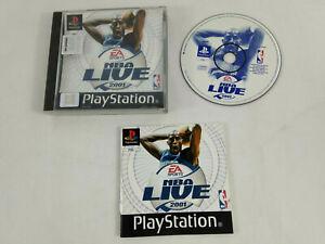 Jeu-Playstation-1-PS1-VF-NBA-Live-2001-avec-notice-Envoi-rapide-et-suivi