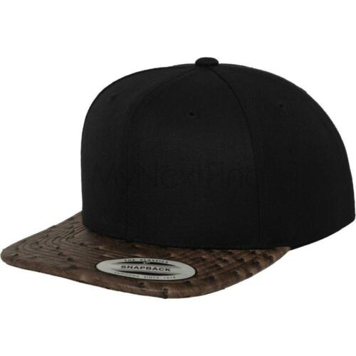 Flexfit by Yupoong Leather Snapback