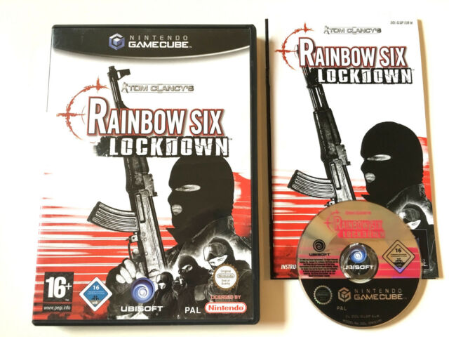 Tom Clancy's Rainbow Six Lockdown in OVP - Nintendo Gamecube 13