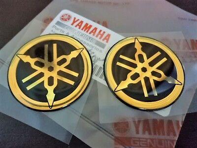 Genuine Yamaha Stimmgabel Tuning Fork Emblem Aufkleber Decal X 2 Ebay