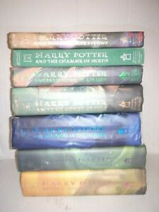 Harry potter hardcover books value