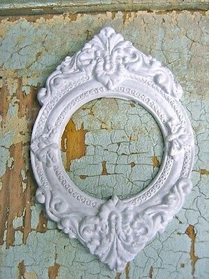 SHABBY N CHIC SMALL FRAMES ( TWO PC'S )  FURNITURE APPLIQUES / CRAFTS FREE SHIP