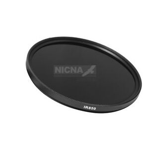 40-5mm-850nm-Infrared-Infra-red-Pass-X-Ray-IR-Lens-Filter-Optical-Glass-40-5-mm