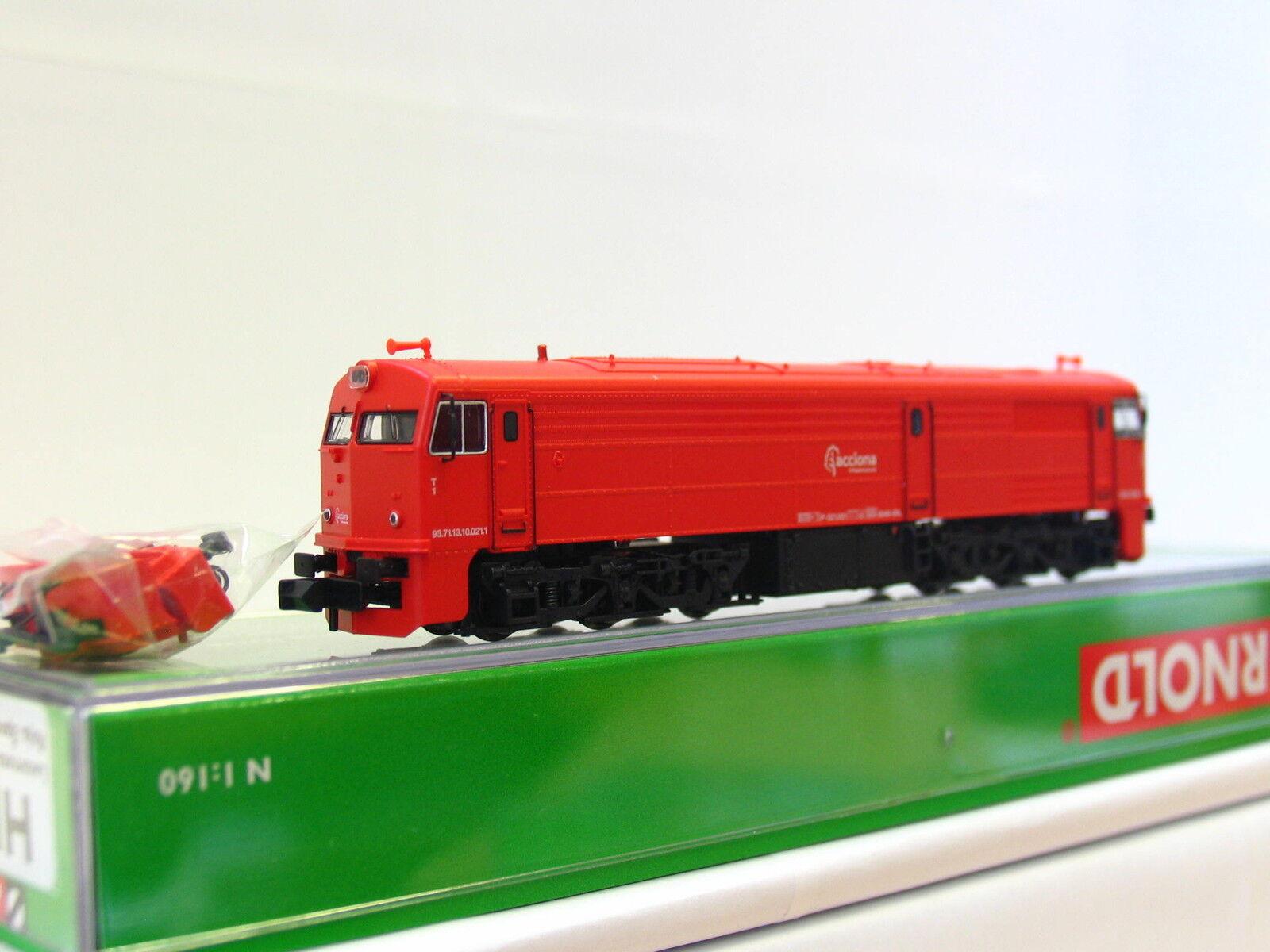 Arnold N HN2266 Diesellok 321 021 Acciona Roja OVP (TR173)