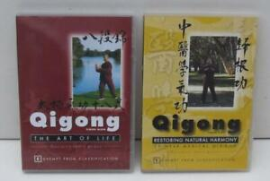 2-QIGONG-DVDs-The-Art-of-Life-Inner-Peace-amp-Restoring-Natural-Harmony-Simon-Blow