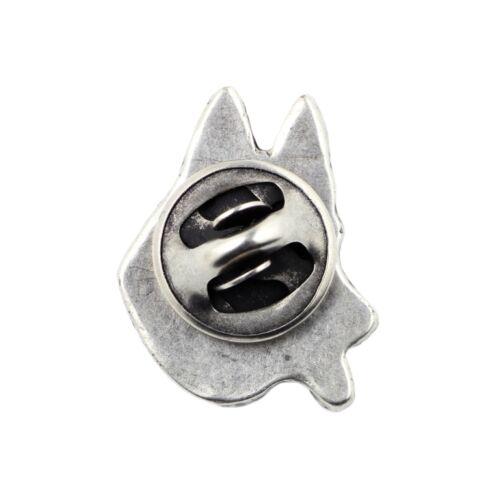 high qauality Art Dog CA silver covered pin German Shepherd