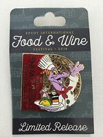 2016 Disney Epcot Food & Wine Festival Chef Figment Limited Release Pin
