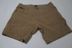 Kuhl-Vintage-Patina-Dye-Light-Brown-Cotton-Blend-Hiking-Shorts-Sz-36
