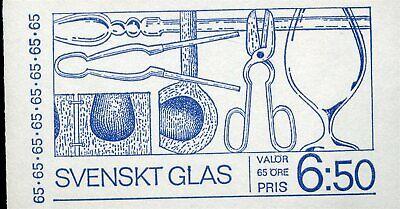 Schweden Mh 32 ** Brillant 422657 Glas Auf Dem Internationalen Markt Hohes Ansehen GenießEn