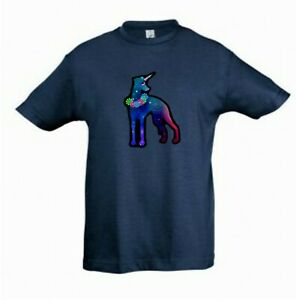 Whippet-Dog-Unicorn-Dog-Tee-Shirt-Childrens-Kids-T-shirt-Check-Measurements