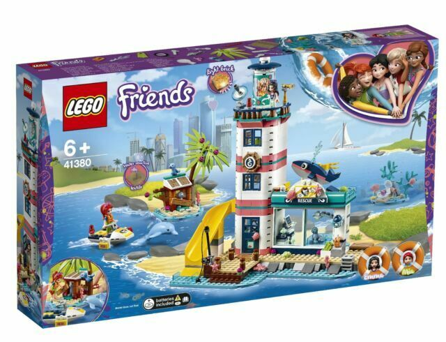 Lego Friends Sets Lighthouse Toy Rescue Center 41380 Building Kit 602 Pieces New
