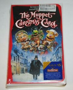The Muppet Christmas Carol (VHS, 1993) 1992 Movie Jim ...