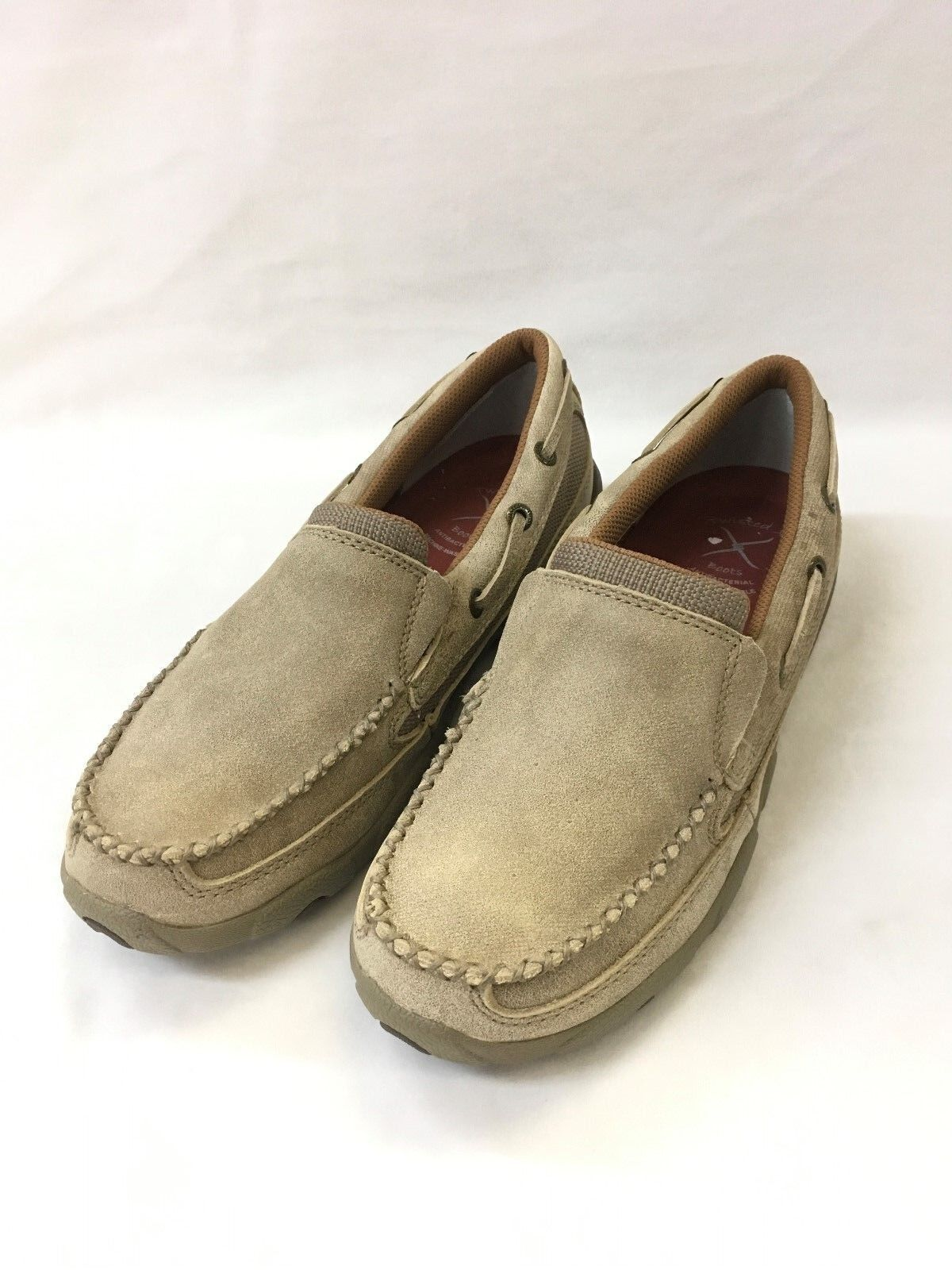 Twisted X Wouomo Dusty Tan Slip-on Driving Moc, Style WDMS002