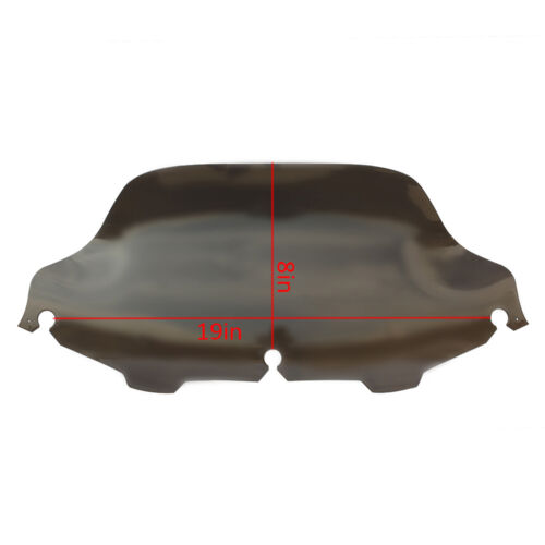 "4.5/"" 6/'/' 7/"" 8/'/' 10/""Windshield Windscreen For Harley Electra Street Glide Touring"