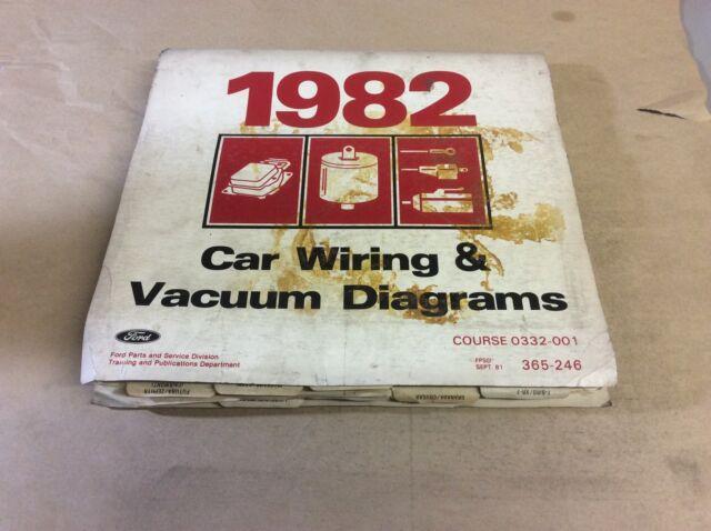 Ford 1982 Car Wiring Vacuum Diagrams