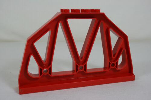 Z Lego Duplo Brücke Pfeiler Stütze rot 51559 Eisenbahn