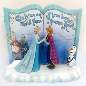 Sculptures Disney Traditions - Figurine Enesco Jim Shore surgelée de contes