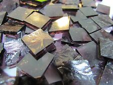 PURPLE Glue Chip Hand Cut Mosaic Glass Tile ... 100+ total pieces