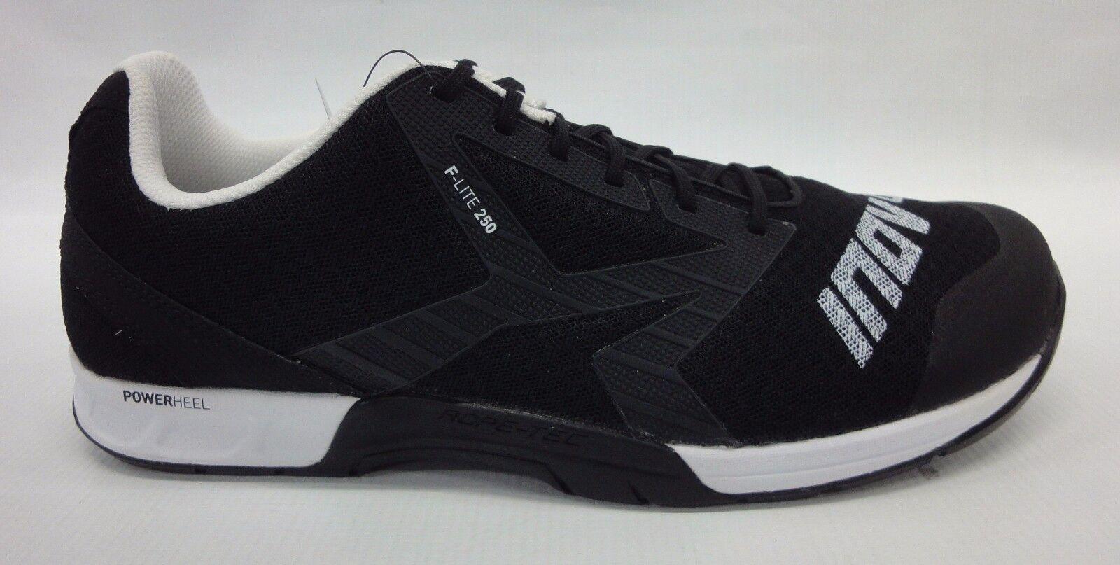 Inov-8 Mens F-Lite 250 Shoes 000039 Black/White Size 9.5