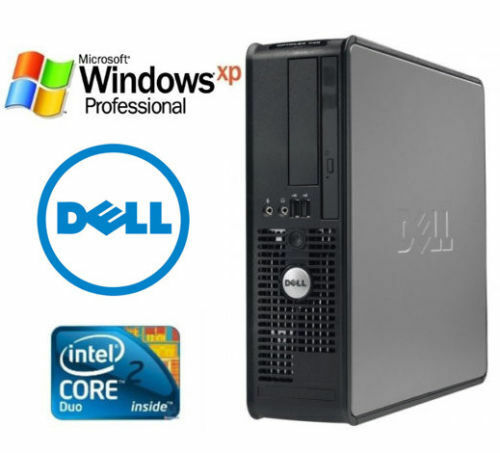 Dell Windows XP Professional 32 Bit Desktop Computer  PC DVD