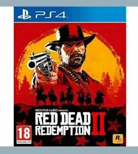 Red-DEAD-REDEMPTION-2-PS4-menta-spedizione-il-giorno-stesso-1st-Class-consegna-gratuita