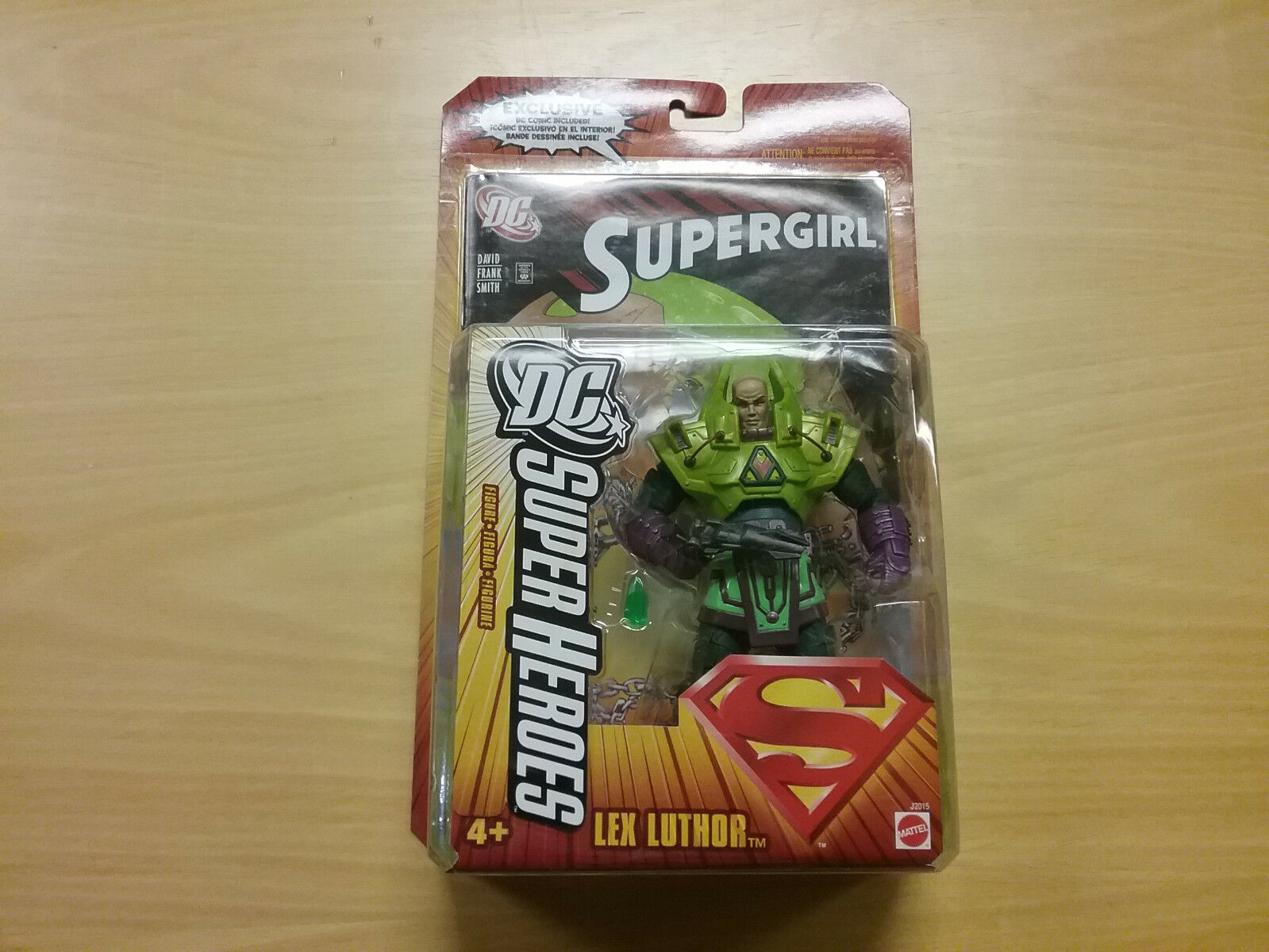 S3 Mattel DC Super Heroes Lex Luthor Ship  Worldwide NEW