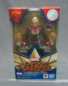 SH S.H. Figuarts Captain Marvel (captain marvel) BANDAI SPIRITS NEW***