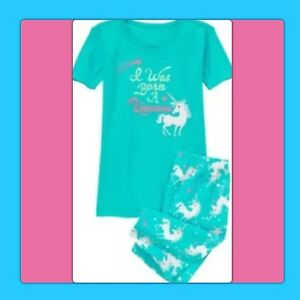 Baby & Toddler Clothing Honesty Nwt 3 Gymboree I Was Born A Unicorn 2pc Cotton Shorts Gymmies Pjs Sleepwear Set Clothing, Shoes & Accessories