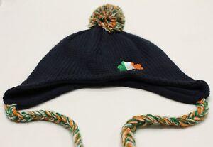 IRELAND - CLOVER - S/M SIZE - CHULLO STYLE STOCKING CAP BEANIE HAT!