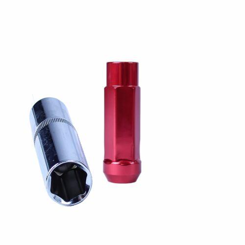 GSP M12 X 1.25mm Type-X 60MM Aluminum Wheel Lug Nuts Fit  Jx35 G25 G37 Fx35 J30