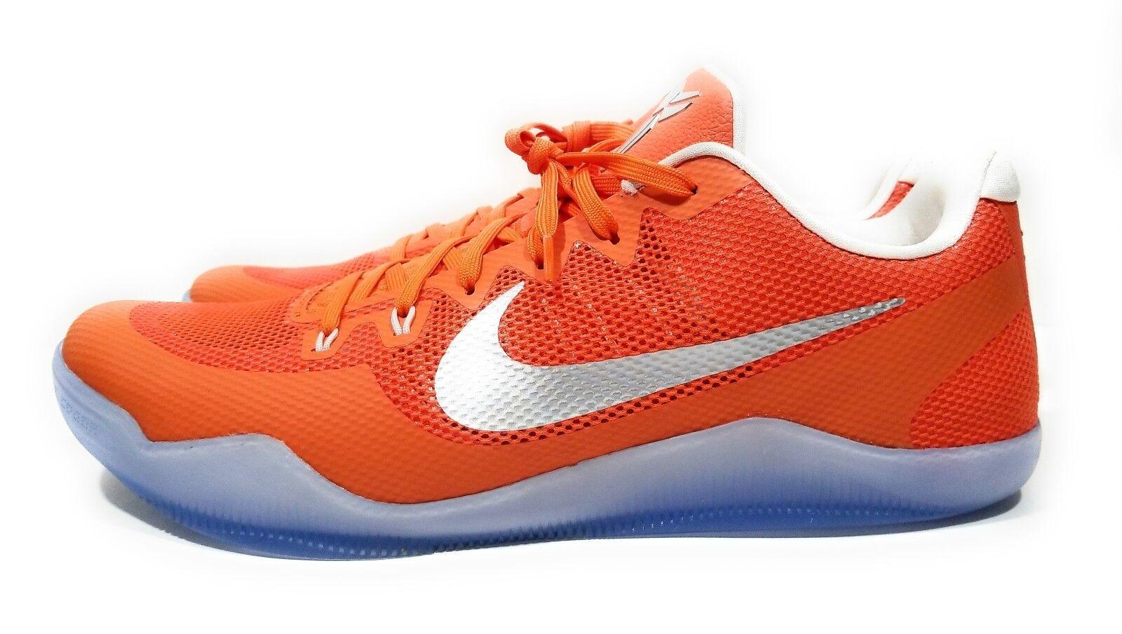 Nike Kobe XI 11 Low TB Promo Mens Basketball shoes orange Size 18