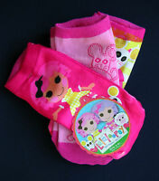 lalaloopsy - Crumbs  Girl's 3 Prs. Ankle Socks Fits Size 6 - 8.5