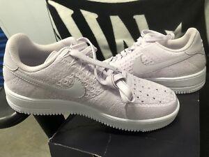 huge discount 772d7 84846 Details about Nike Air Force One Flyknit Low Light Violet Size 9 Af1