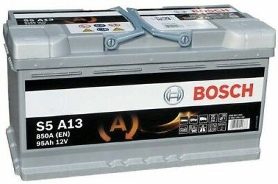 Bosch S5A13 S5 A13 Start Stop AGM Car Battery 12V 95Ah Type 019 5 YEAR WARRANTY