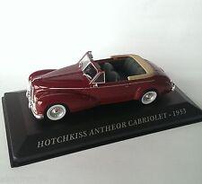 Die cast 1/43 HOTCHKISS ANTHEOR CABRIOLET - 1953 IT - CCC004