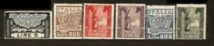 ITALY-Sc-159-to-164-MINT-NH-VF-See-DESCRIPTION-SCAN