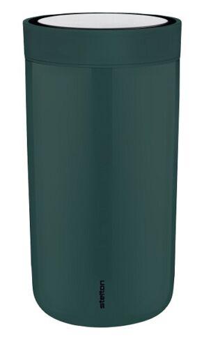 "Stelton To Go Click Trink Becher  /"" pine green /""  0,2 L neu OVP"