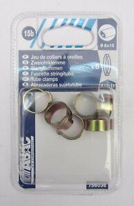 6-ABAC-fascette-stringitubo-tubo-8-x-13-in-ottone-x-aria-compressa-nuovo