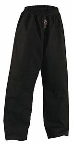 Ju Jutsu Hose Shogun Plus, schwarz,14Oz, Dan Rho. 180-190cm. MMA, Jiu Jitsu, SV