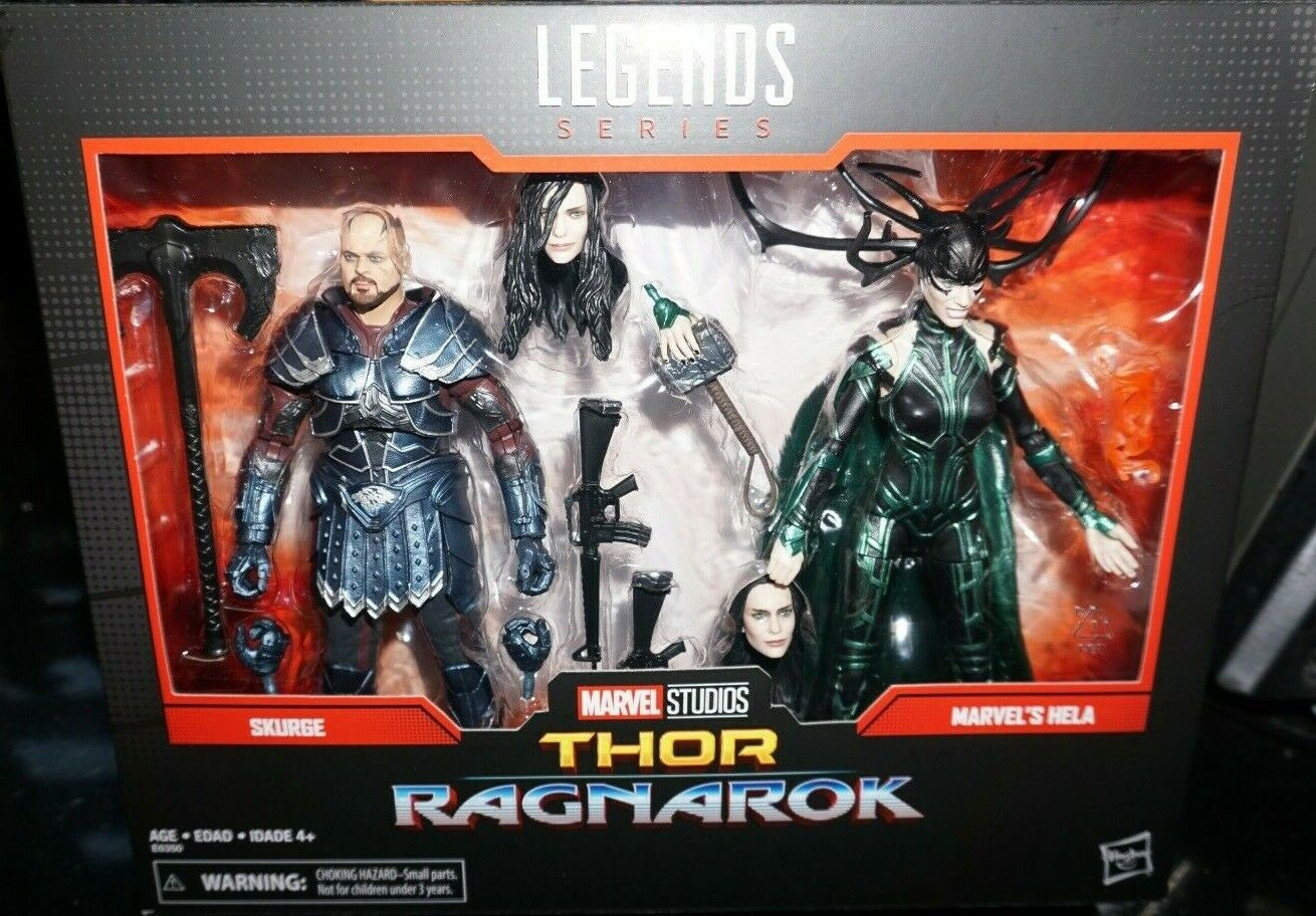 Marvel Legends 6 MCU Studios Thor Ragnarok SKURGE HELA ASGARD 2Pack IN STOCK