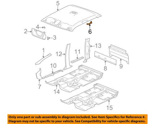 GM OEM Interior-Grip Grab Assist Strap 15044366